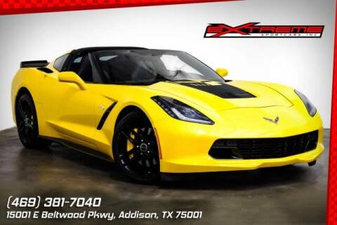 2014 Chevrolet Corvette for sale at EXTREME SPORTCARS INC in Carrollton TX