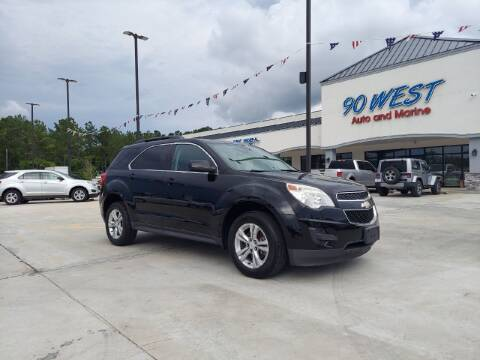 2013 Chevrolet Equinox for sale at 90 West Auto & Marine Inc in Mobile AL