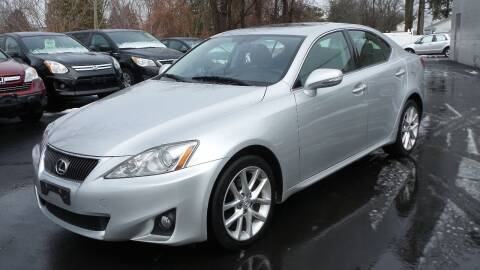 2011 Lexus IS 250 for sale at JBR Auto Sales in Albany NY