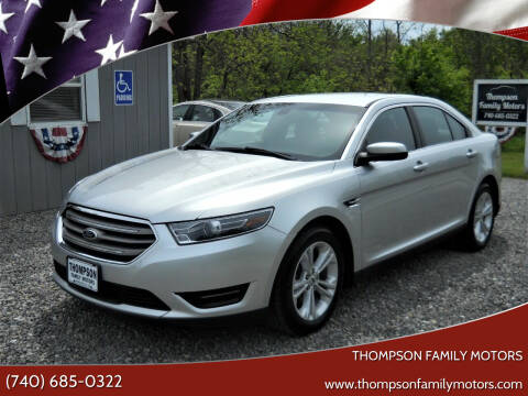 2016 Ford Taurus for sale at THOMPSON FAMILY MOTORS in Senecaville OH