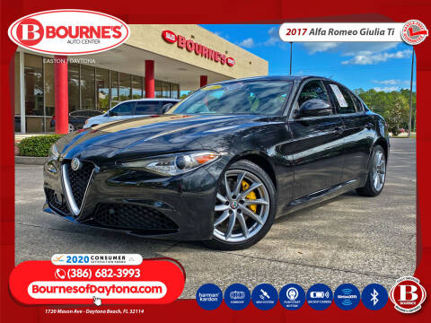 2017 Alfa Romeo Giulia for sale at Bourne's Auto Center in Daytona Beach FL