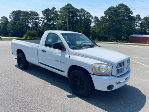 2006 Dodge Ram Pickup 1500 for sale at Carprime Outlet LLC in Angier NC