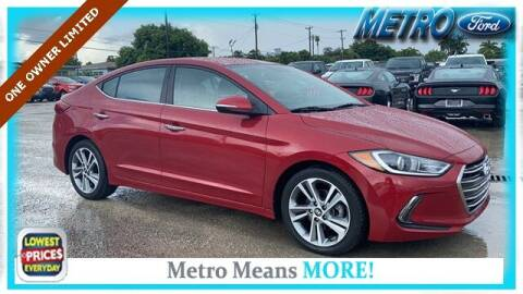 2017 Hyundai Elantra for sale at Your First Vehicle in Miami FL