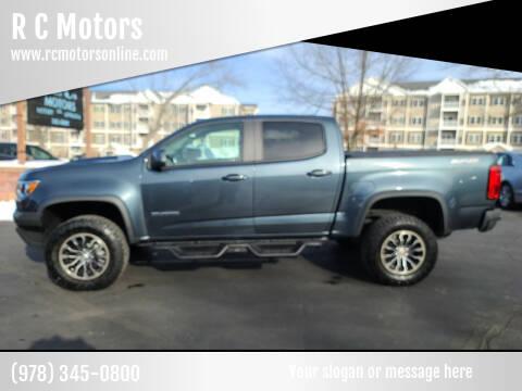 2020 Chevrolet Colorado for sale at R C Motors in Lunenburg MA