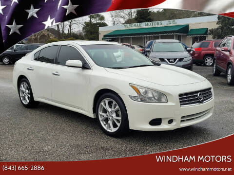 2014 Nissan Maxima for sale at Windham Motors in Florence SC