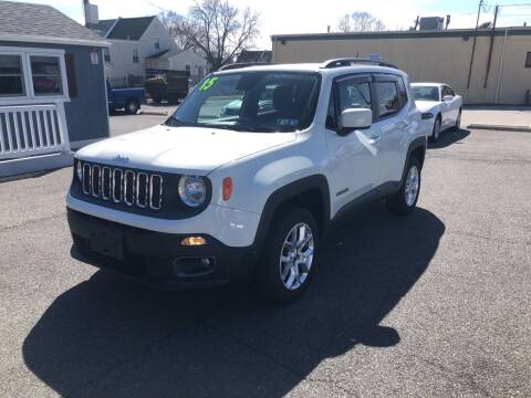 2015 Jeep Renegade for sale at Sharon Hill Auto Sales LLC in Sharon Hill PA