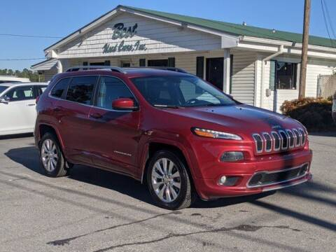 2016 Jeep Cherokee for sale at Best Used Cars Inc in Mount Olive NC