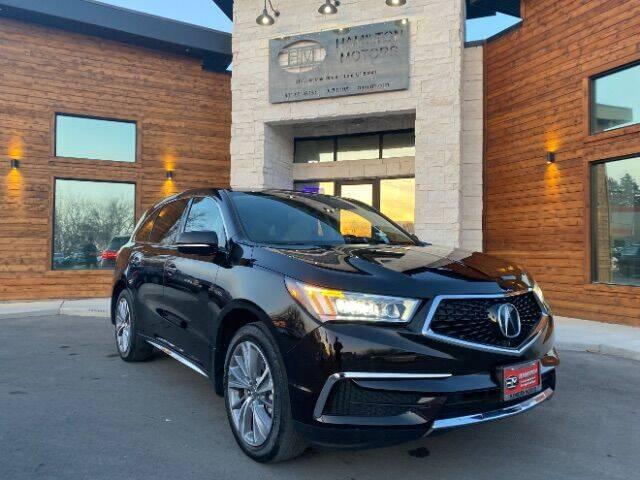 2017 Acura MDX for sale at Hamilton Motors in Lehi UT