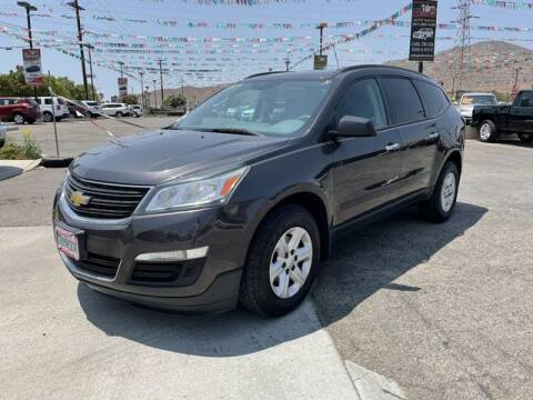 2014 Chevrolet Traverse for sale at Los Compadres Auto Sales in Riverside CA
