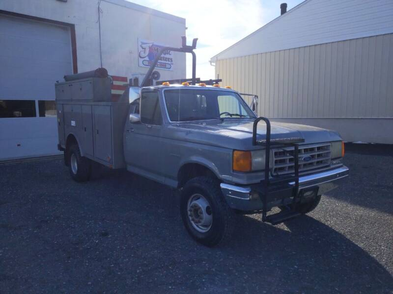 1991 Ford F-450 for sale at J'S MAGIC MOTORS in Lebanon PA