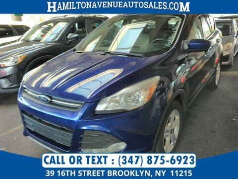 2014 Ford Escape for sale at Hamilton Avenue Auto Sales in Brooklyn NY