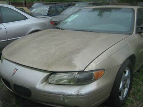 2000 Pontiac Grand Prix for sale at Ody's Autos in Houston TX