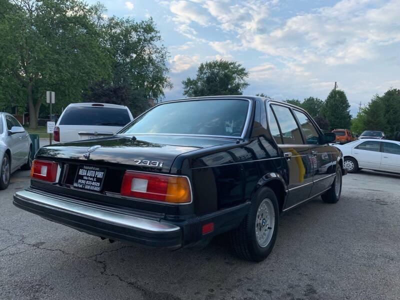 1984 BMW 7 Series 733i 4dr Sedan - Villa Park IL