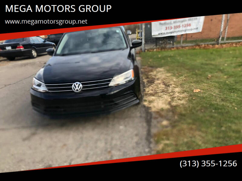 2016 Volkswagen Jetta for sale at MEGA MOTORS GROUP in Redford MI