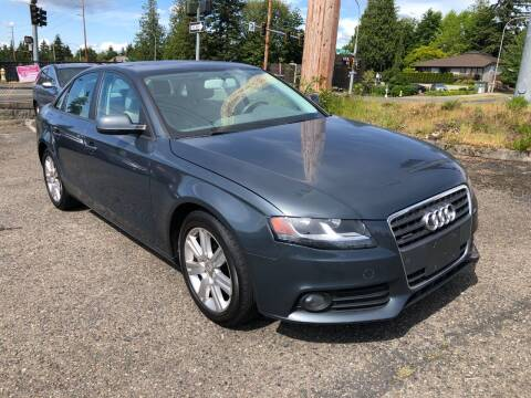 2011 Audi A4 for sale at KARMA AUTO SALES in Federal Way WA