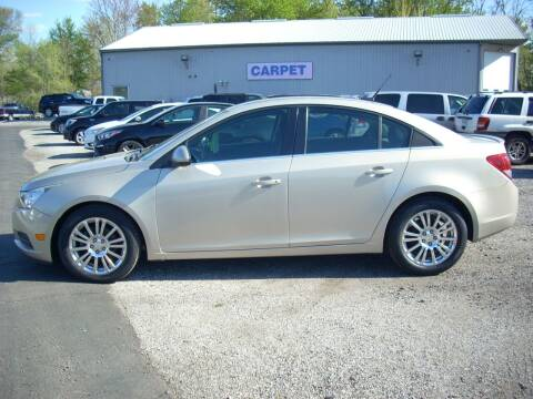 2012 Chevrolet Cruze for sale at H&L MOTORS, LLC in Warsaw IN