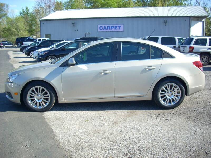 2012 Chevrolet Cruze for sale at H&L MOTORS, LLC in Warsaw IN