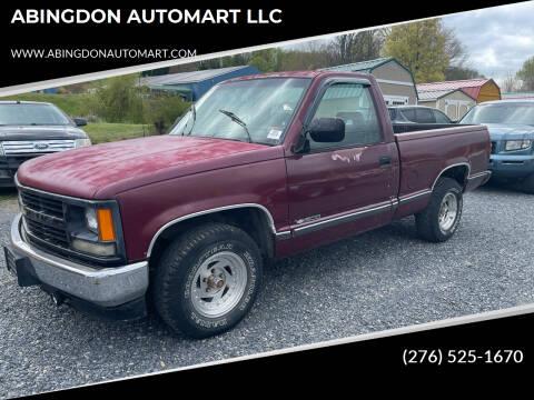 1994 Chevrolet C/K 1500 Series for sale at ABINGDON AUTOMART LLC in Abingdon VA