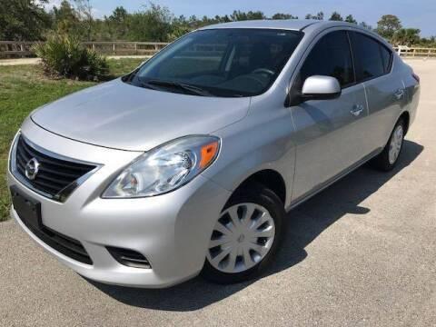 2012 Nissan Versa for sale at Deerfield Automall in Deerfield Beach FL
