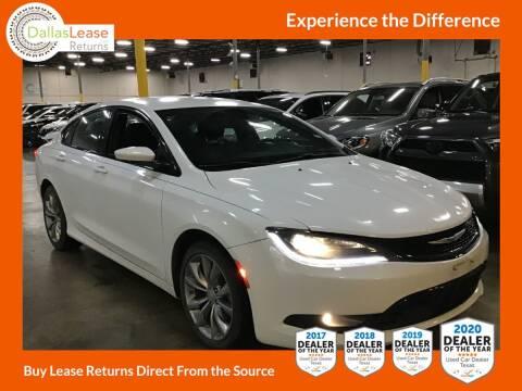 2016 Chrysler 200 for sale at Dallas Auto Finance in Dallas TX