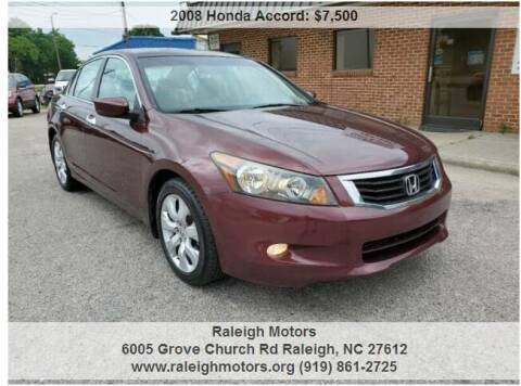 2008 Honda Accord for sale at Raleigh Motors in Raleigh NC