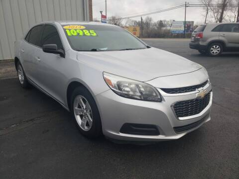 2014 Chevrolet Malibu for sale at Used Car Factory Sales & Service Troy in Troy OH