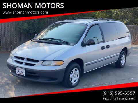 2000 Dodge Grand Caravan for sale at SHOMAN MOTORS in Davis CA