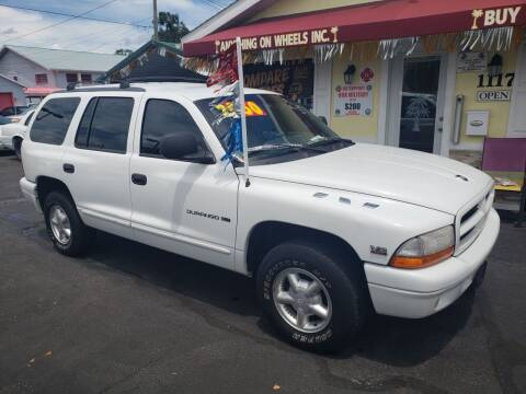 2000 Dodge Durango for sale at ANYTHING ON WHEELS INC in Deland FL