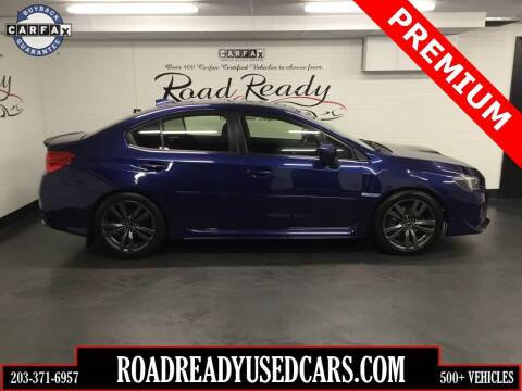 2017 Subaru WRX for sale at Road Ready Used Cars in Ansonia CT