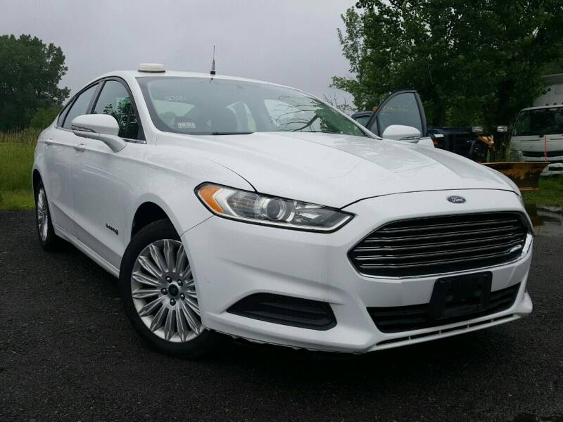 2014 Ford Fusion Hybrid for sale at GLOVECARS.COM LLC in Johnstown NY