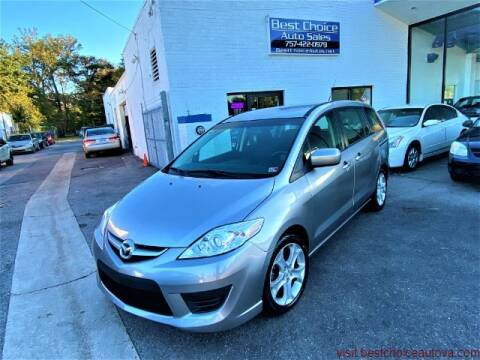 2010 Mazda MAZDA5 for sale at Best Choice Auto Sales in Virginia Beach VA