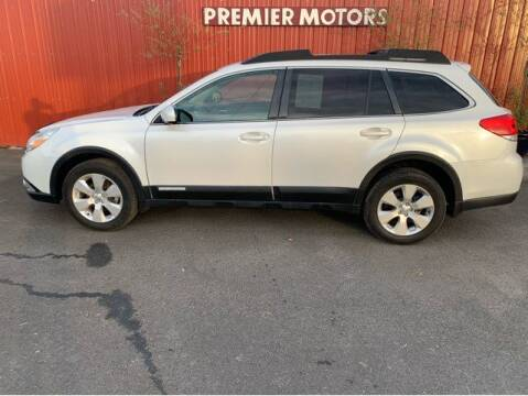 2011 Subaru Outback for sale at Premier Motors in Milton Freewater OR