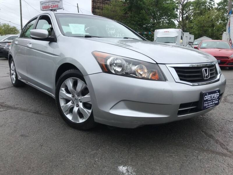 2008 Honda Accord for sale at Certified Auto Exchange in Keyport NJ