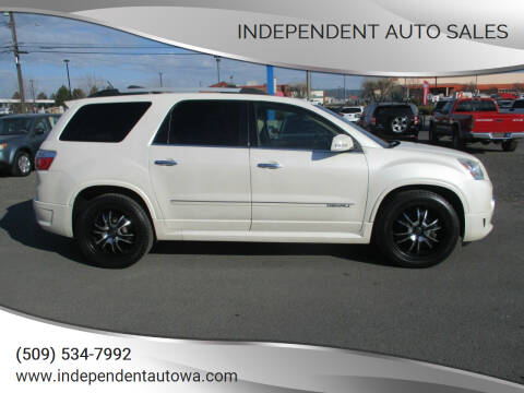 2011 GMC Acadia for sale at Independent Auto Sales in Spokane Valley WA