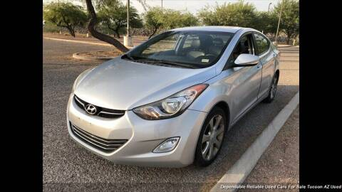 2012 Hyundai Elantra for sale at Noble Motors in Tucson AZ