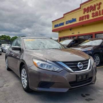 2016 Nissan Altima for sale at Popas Auto Sales in Detroit MI