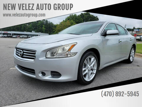 2014 Nissan Maxima for sale at NEW VELEZ AUTO GROUP in Gainesville GA