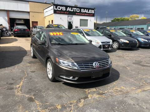 2013 Volkswagen CC for sale at Lo's Auto Sales in Cincinnati OH