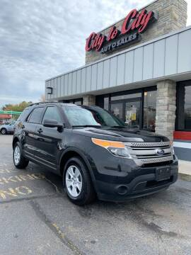 2013 Ford Explorer for sale at City to City Auto Sales in Richmond VA
