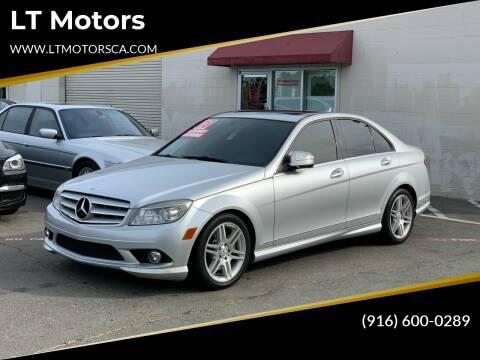 2008 Mercedes-Benz C-Class for sale at LT Motors in Rancho Cordova CA