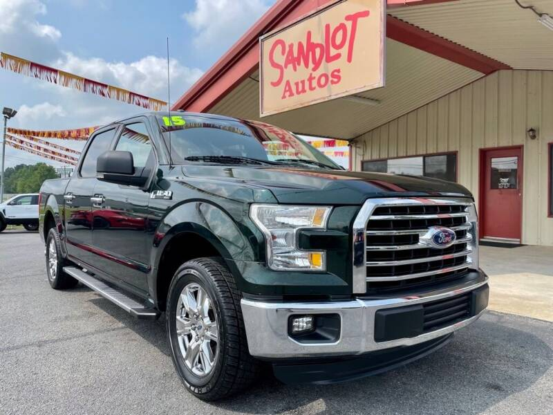 2015 Ford F-150 for sale at Sandlot Autos in Tyler TX