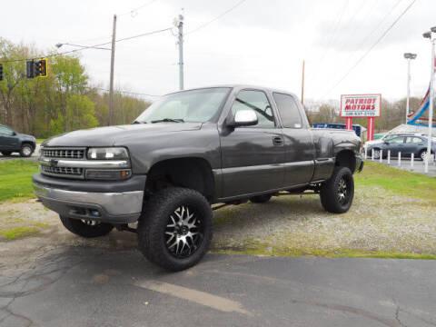 2001 Chevrolet Silverado 1500 for sale at Patriot Motors in Cortland OH