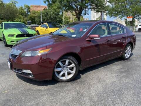 2012 Acura TL for sale at Sonias Auto Sales in Worcester MA