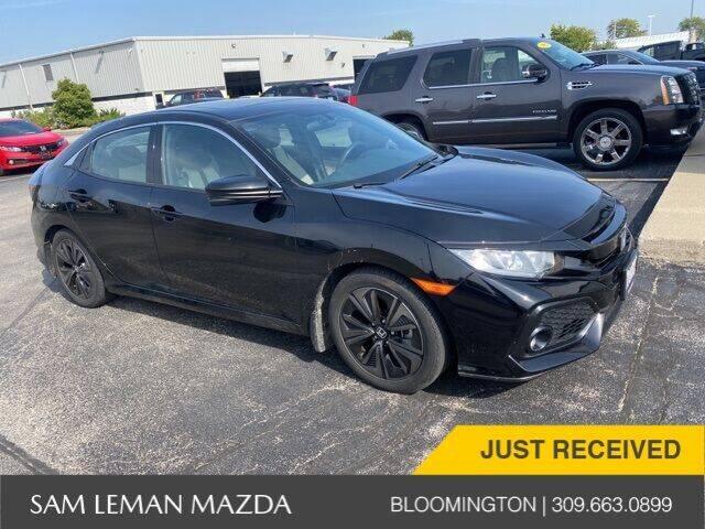 2017 Honda Civic for sale at Sam Leman Mazda in Bloomington IL