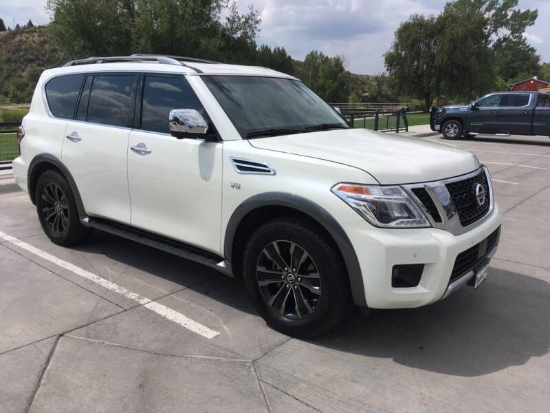 2017 Nissan Armada for sale at Northwest Auto Sales & Service Inc. in Meeker CO