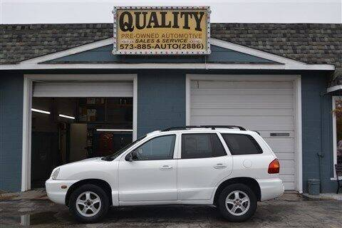 2004 Hyundai Santa Fe for sale at Quality Pre-Owned Automotive in Cuba MO