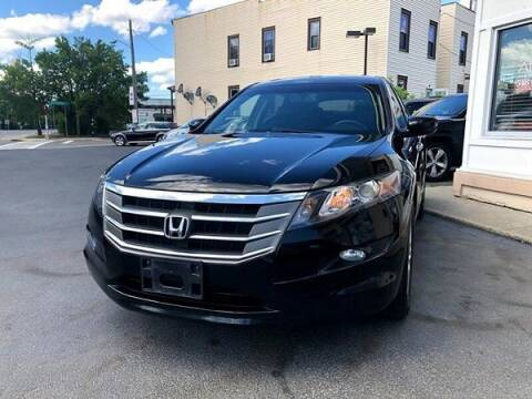 2012 Honda Crosstour for sale at ADAM AUTO AGENCY in Rensselaer NY