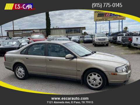 2002 Volvo S80 for sale at Escar Auto in El Paso TX