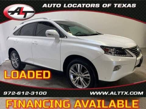 2015 Lexus RX 350 for sale at AUTO LOCATORS OF TEXAS in Plano TX