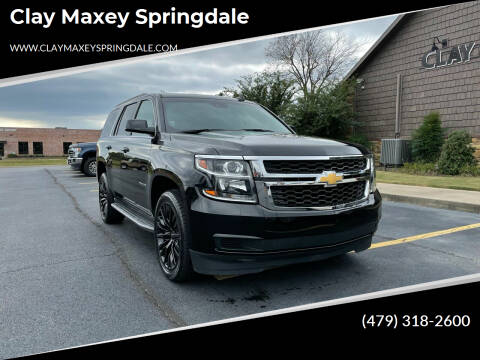 2019 Chevrolet Tahoe for sale at Clay Maxey Springdale in Springdale AR